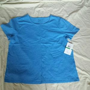 Blue tee shirt new with tags